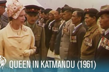 Queen Elizabeth II & Prince Philip: The Royal Tour of India Pt. 1 (1961) | British Pathé