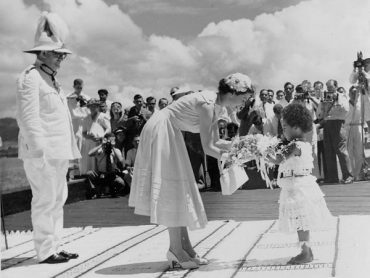 Royal Visit to Fiji and Tonga, 1953