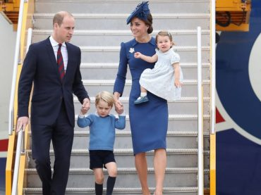 The Royal Family Arrives in Canada, Greeted By Justin Trudeau | Royal Visit Canada